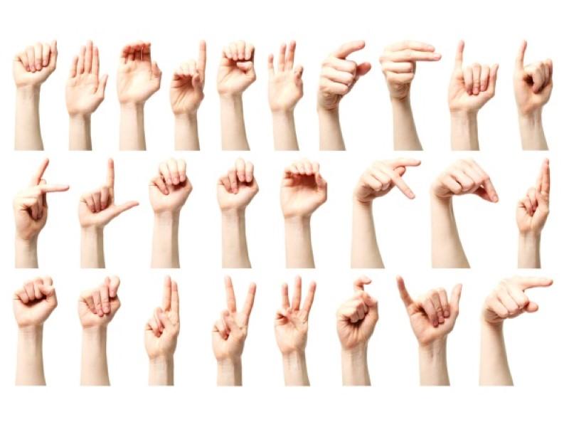 znakovni jezik (Custom)