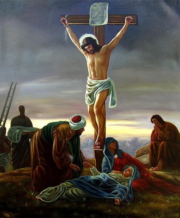 jezus na krizu (Custom)